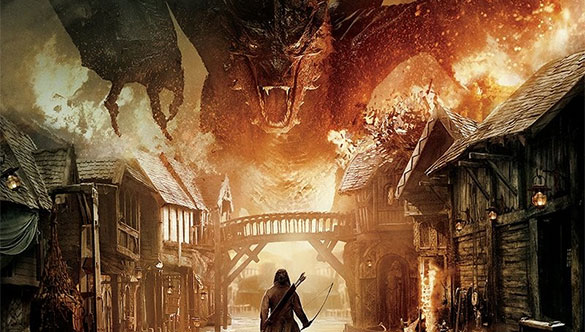 hobbit dragon scary The Hobbit: Battle of the Five Armies Trailer Marches Into War