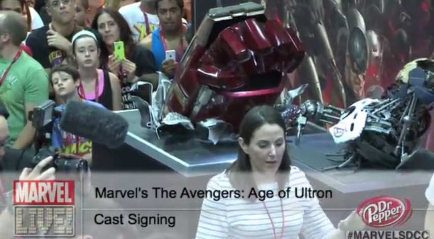 hulkbuster iron man Comic Con: Robert Kirkmans AIR Teaser, Star Wars Comics, Hulkbuster Armor, And More You Mightve Missed From Day 3