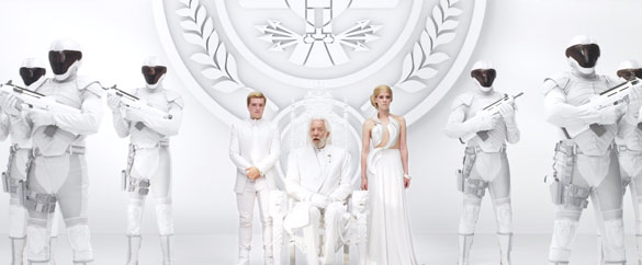 hunger games president snow message Best of the Week: Guardians of the Galaxy Set Visit, Gone Girl and Exodus Trailers, and More