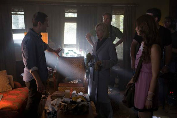 insidious 3 140723 585 Movie News: First Look at Insidious 3; Colin Farrell and Jessica Chastain in First, Seductive Miss Julie Trailer