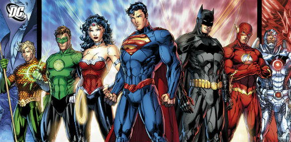 justice league 140728 585 Movie News: Justice League Gets a Writer; Watch a Trailer for The Death of Superman Lives