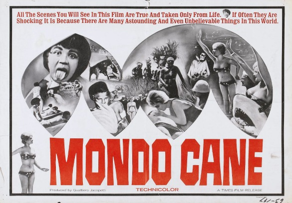 mondo cane poster 03 The Last Horror Blog: Your Complete Guide to Italian Cannibal Movies, Part 1