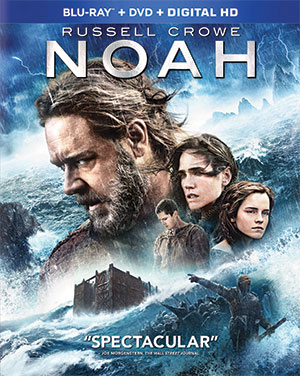 noah blu ray cover Writer Ari Handel Tells Us What Movie Was Harder to Get Made, Noah or The Fountain