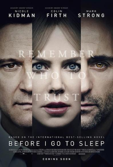 postersleep Watch: Nicole Kidman Trusts No One in the First Trailer for Before I Go to Sleep