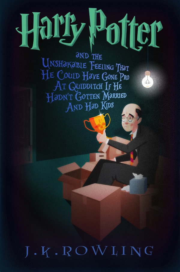 Harry Potter Book Names : What middle aged harry potter books might look like