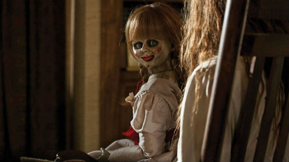 the conjuring annabelle 585 Movie News: Ant Man Gets More New Writers; Conjuring Spin off Coming; First Young Ones Trailer