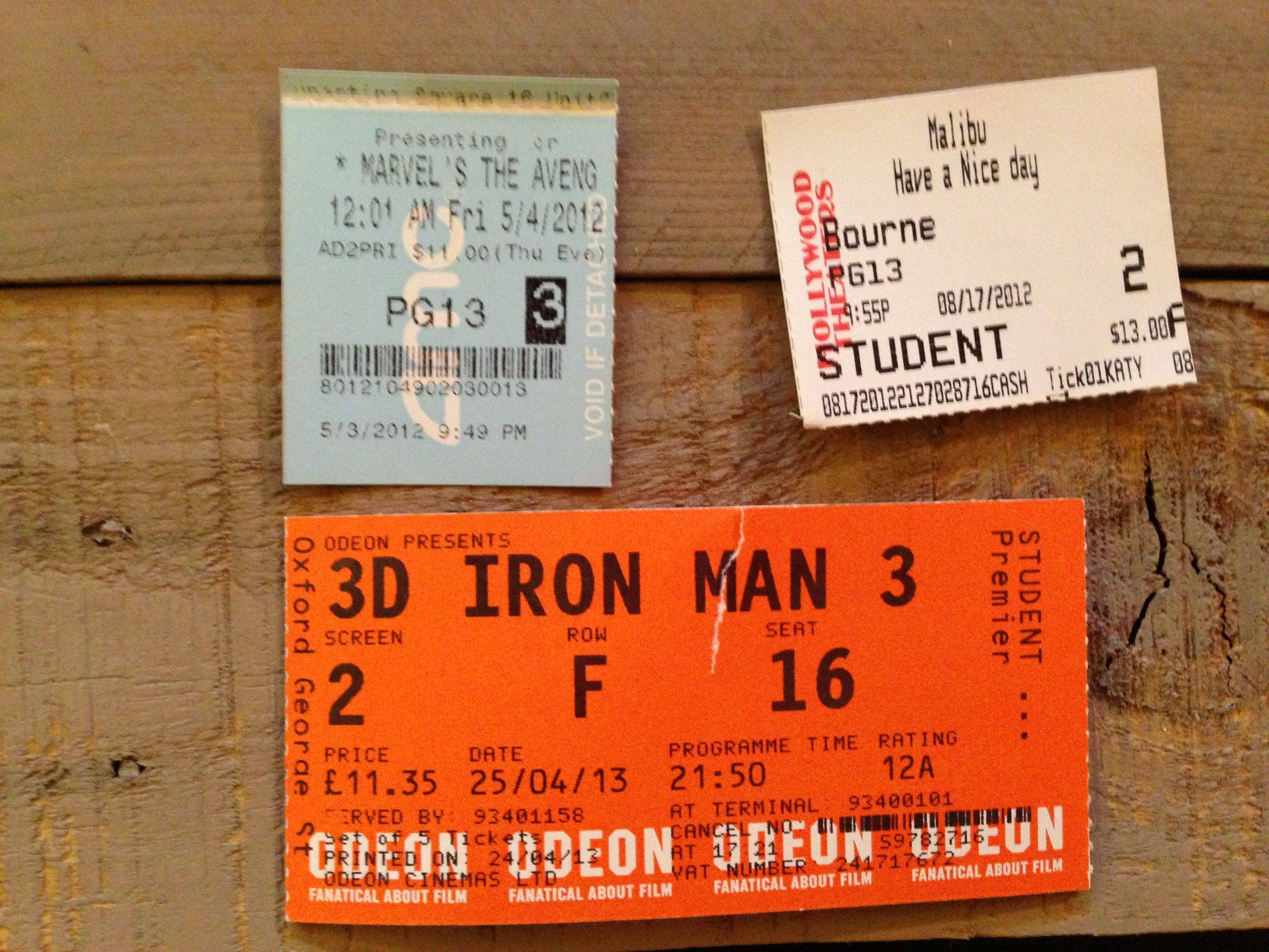 ... Thing to Do with Your Old Movie Tickets | Movie News | Movies.com