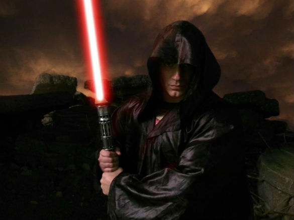 Henry Cavill as Super-Jedi, via Zack Snyder