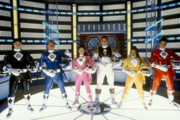 Might Morphin Power Rangers