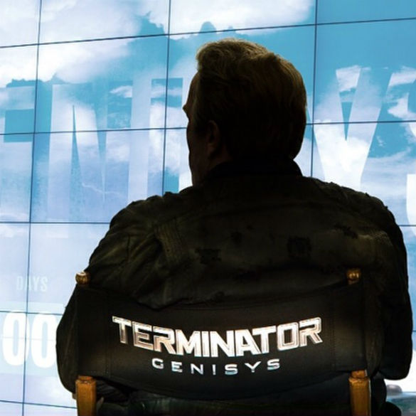 1 Instagram TerminatorGenisys 585 Movie News: See Arnold Schwarzenegger Announce a New Terminator Title