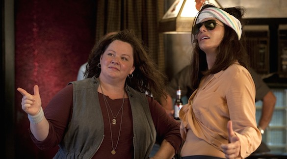 Bullock and McCarthy in The HEat Discuss: Who Would You Cast As the Women Ghostbusters?