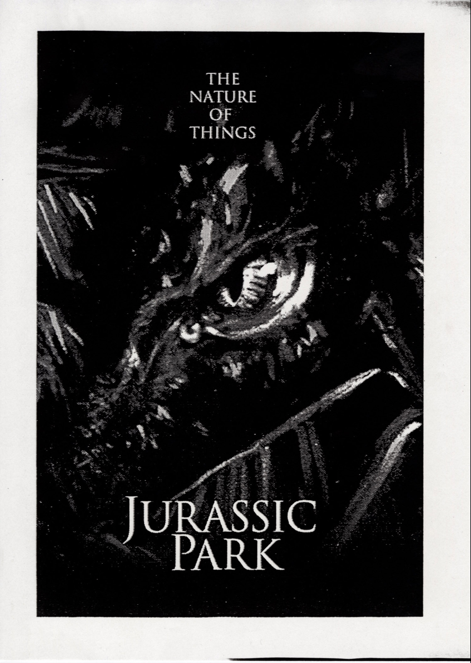 John Alvin   Jurassic Park poster   1 Exclusive: Over a Dozen Never Before Seen Jurassic Park Posters From Famous Artist John Alvin