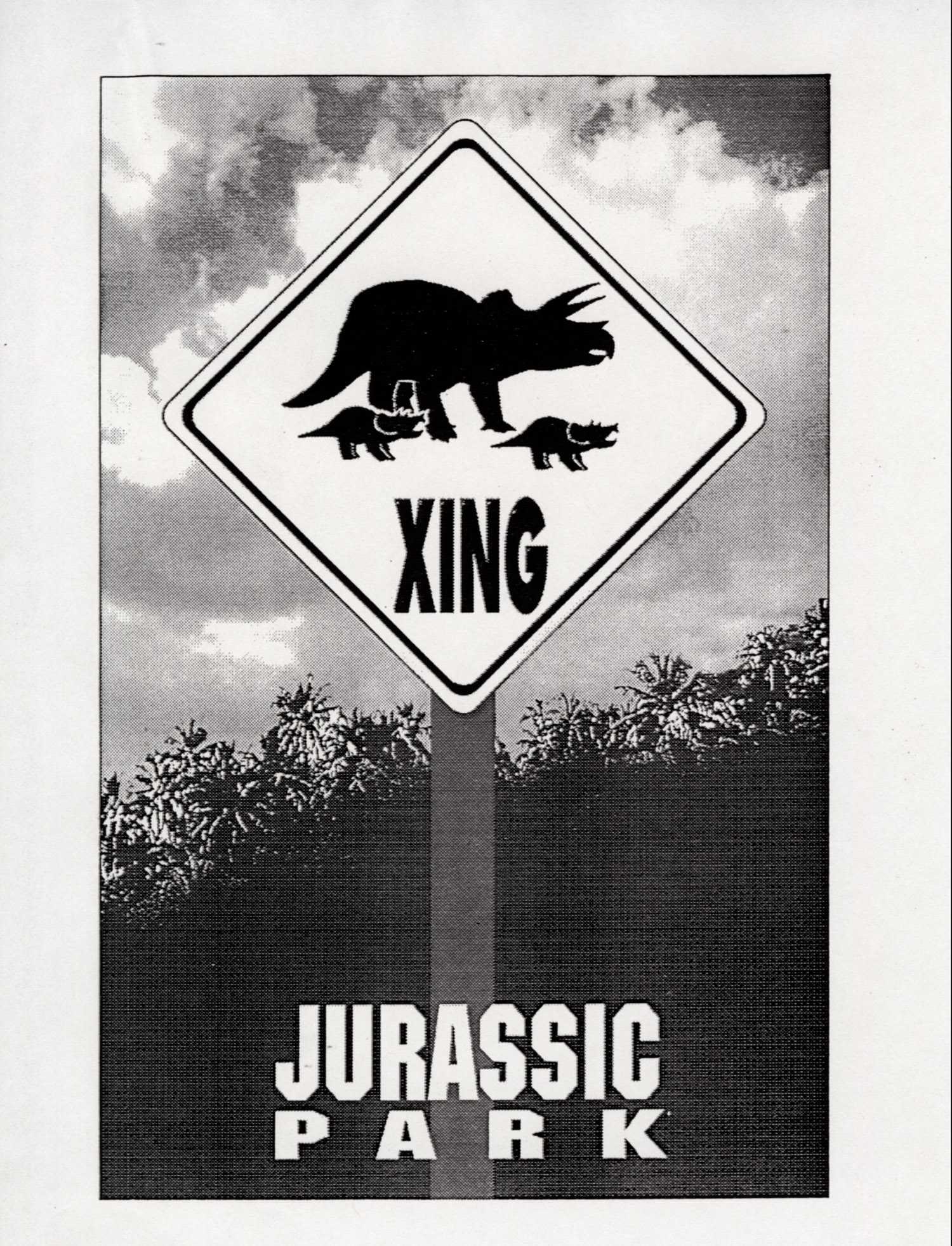 John Alvin   Jurassic Park poster   10 Exclusive: Over a Dozen Never Before Seen Jurassic Park Posters From Famous Artist John Alvin