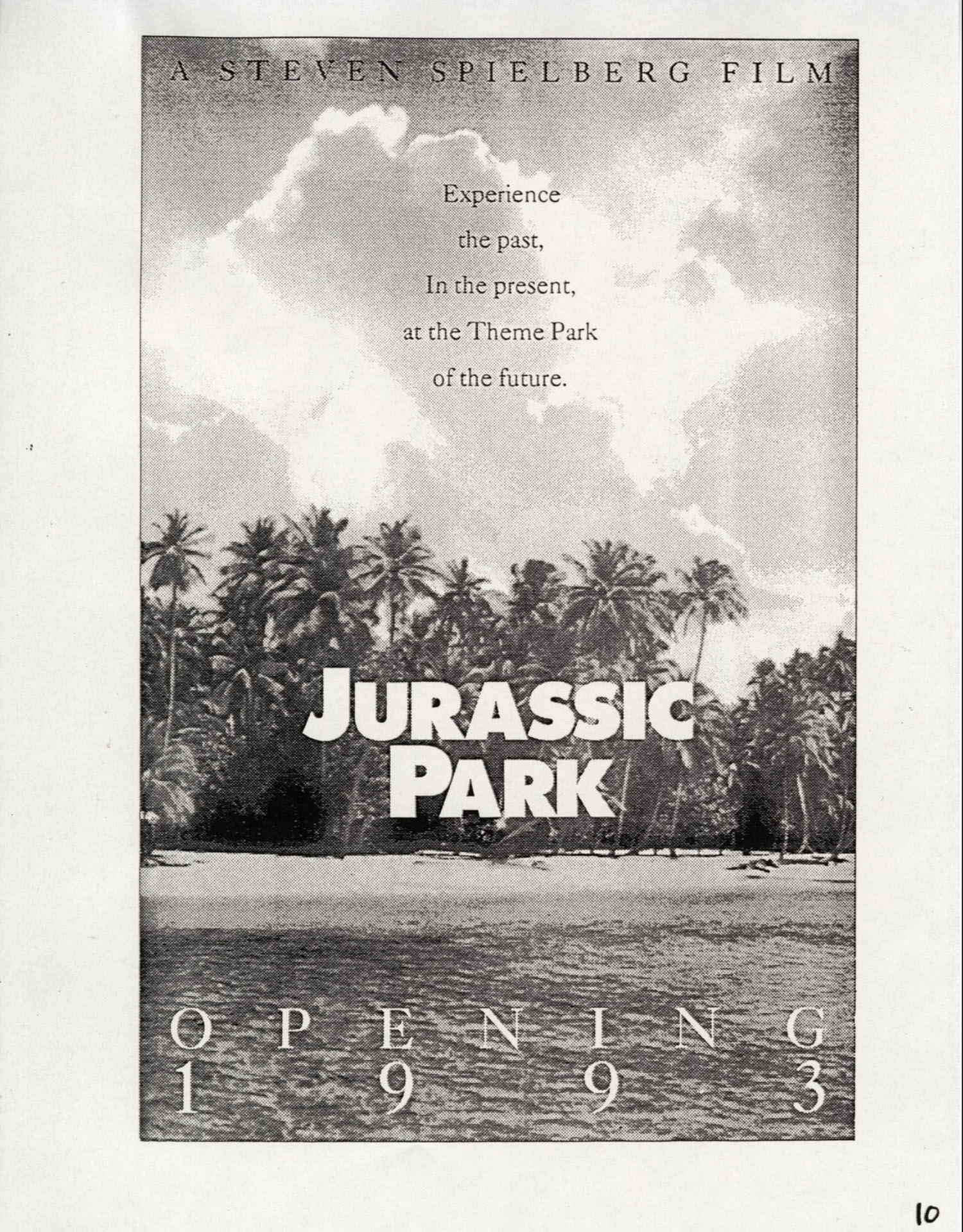 John Alvin   Jurassic Park poster   12 Exclusive: Over a Dozen Never Before Seen Jurassic Park Posters From Famous Artist John Alvin