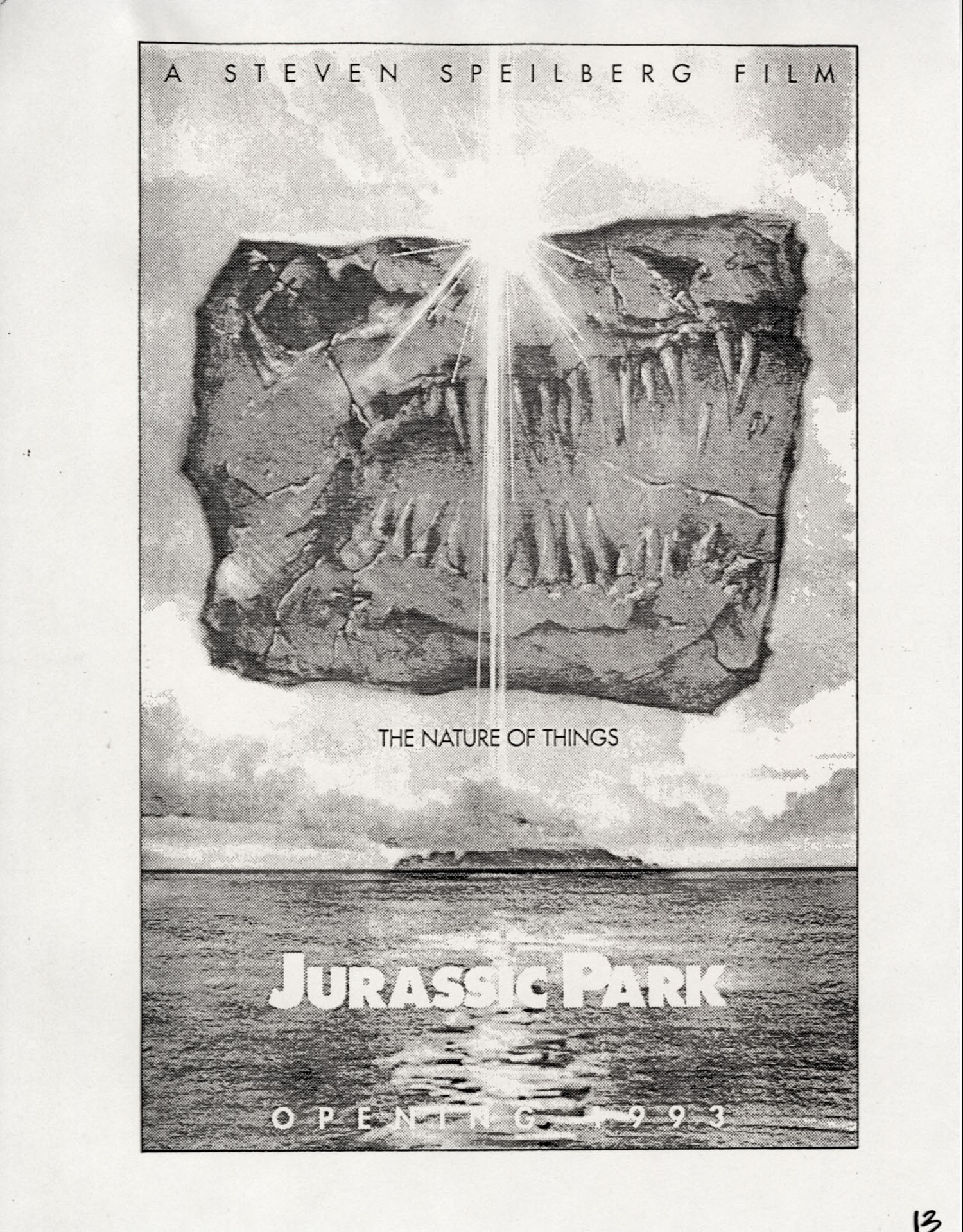 John Alvin   Jurassic Park poster   13 Exclusive: Over a Dozen Never Before Seen Jurassic Park Posters From Famous Artist John Alvin