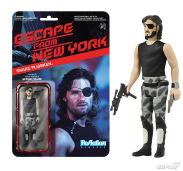 Escape from New York action figure