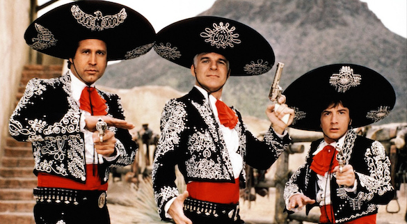 Three Amigos Who Would You Cast in a Comedy Equivalent of The Expendables?