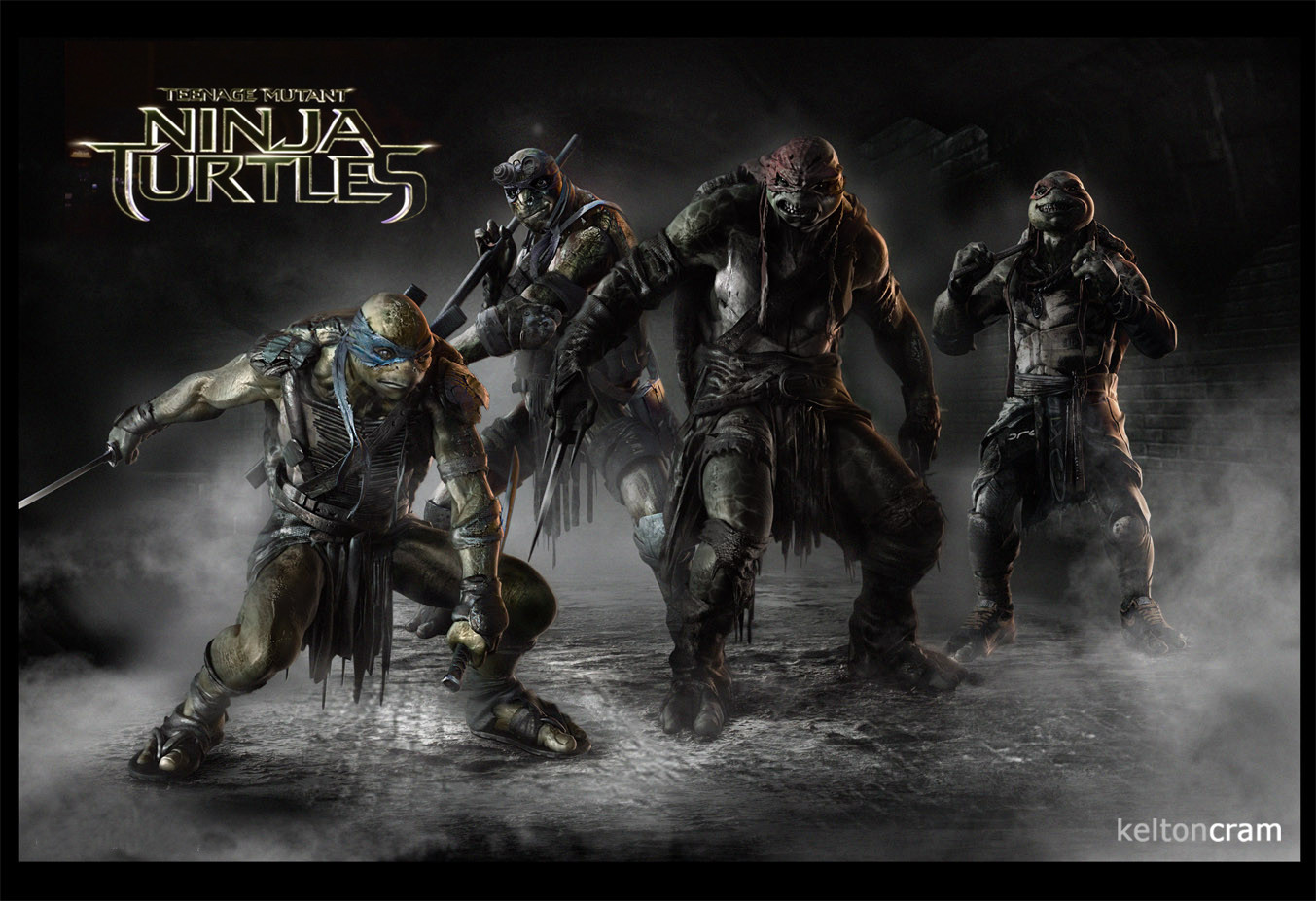 tmntcon4 See What Shredder and the Ninja Turtles Almost Looked Like In the New Movie