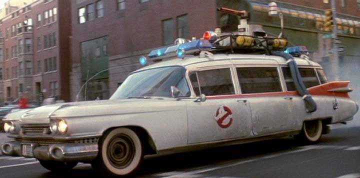 watch the crazy origin story for the ecto 1 from 39 ghostbusters 39 plus see what it almost. Black Bedroom Furniture Sets. Home Design Ideas