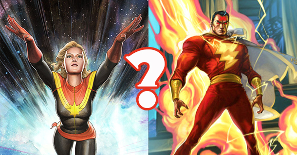 capmarvel header Marvel Studios Countdown: Just Who Is Captain Marvel, Anyway?