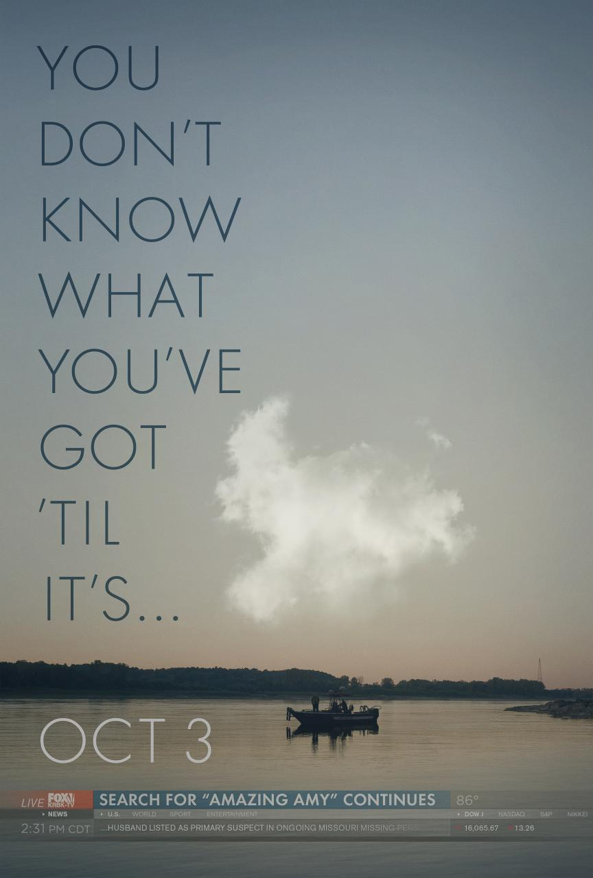 gone girl movie poster 1 What Is Your Most Anticipated Movie of Fall 2014?