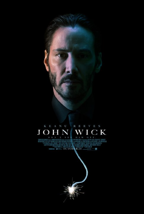 john wick poster John Wick Trailer: Kill Keanu Reeves Dog and Youre Going To Have a Very, Very Bad Time