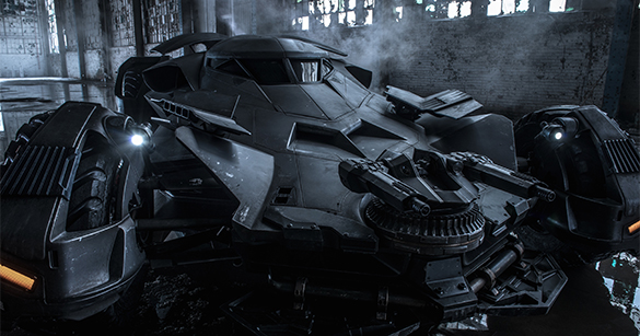 new batmobile The Geek Beat: Celebrating the Most Iconic Cars (and One Motorcycle) from Geeky Movies