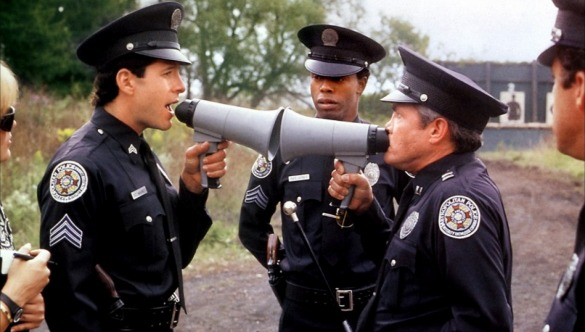 The Stars of 'Police Academy' Are Reuniting for This Crazy Movie...