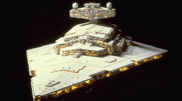 Star Wars Star Destroyer model