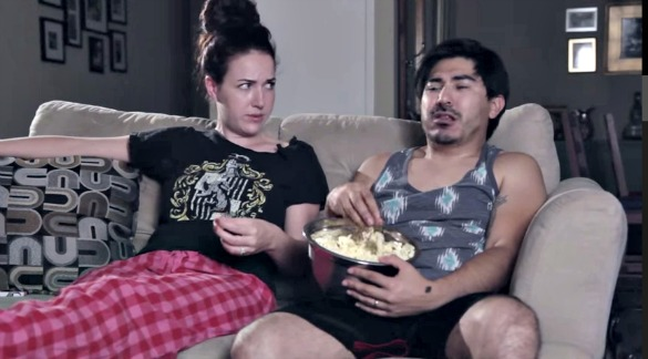 Watch: Here Are the Weirdest Things Couples Do on Movie Night...