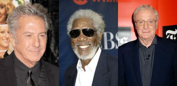 Dustin Hoffman / Morgan Freeman / Michael Caine