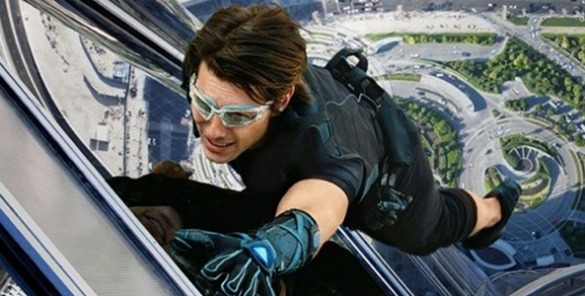 Tom Cruise MI5 plane stunt