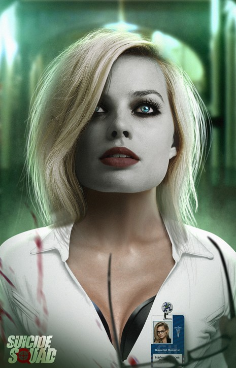 Suicide Squad fan art Margot Robbie