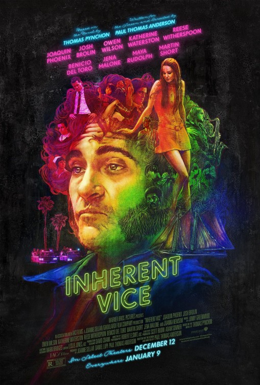 New Movie Posters: 'Inherent Vice,' 'Pixels,' 'American Sniper,' and More...