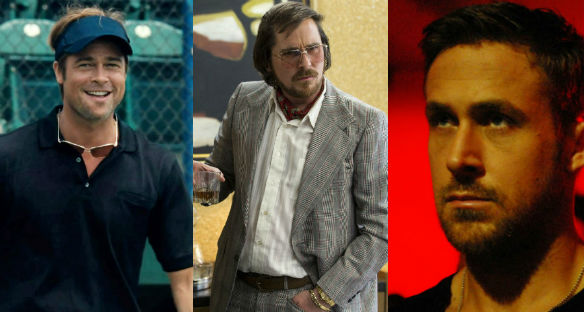 Moneyball / American Hustle / Only God Forgives