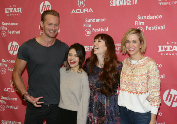 The cast of 'The Diary of a Teenage Girl' at Sundancd 2015