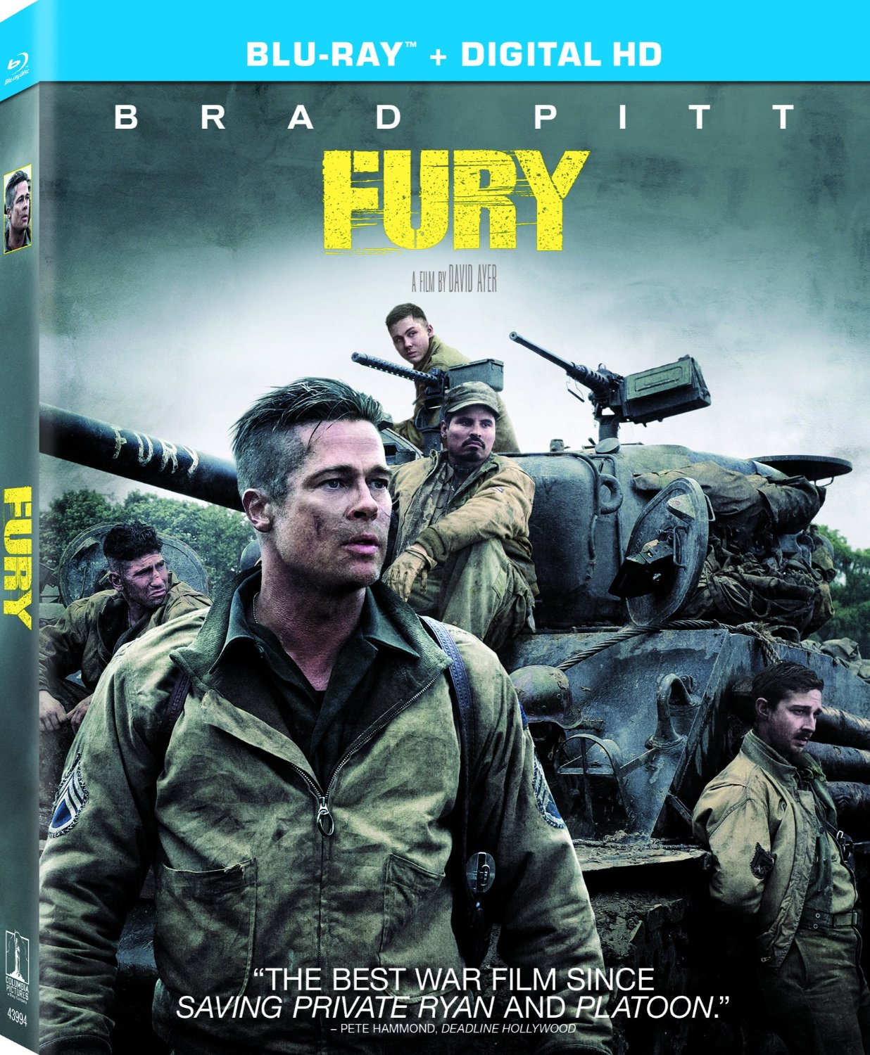 Exclusive 'Fury' Behind-the-Scenes Clip: Brad Pitt and Shia LaBeouf Champion David Ayers...