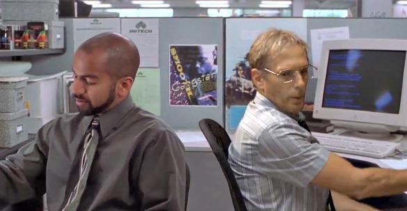 Office space movie scenes