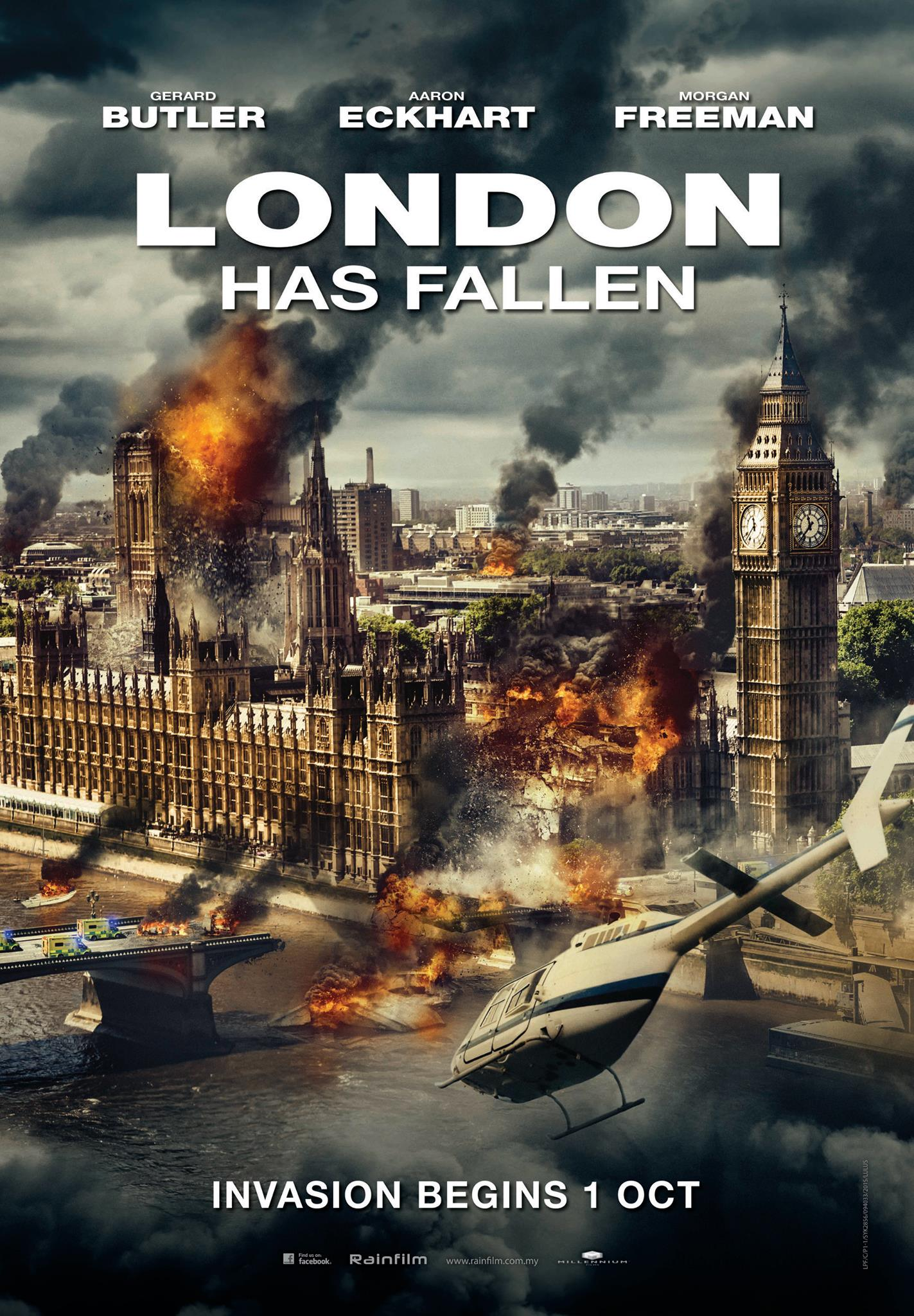 New Movie Posters: 'London Has Fallen,' 'No Escape,' 'Entourage' and More...