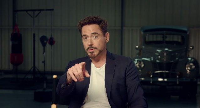 Watch: Robert Downey Jr. Wants to Give You the Best Night of Your Life... Ever...