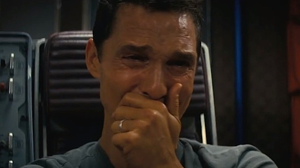 See Matthew McConaughey Weep While Watching 'Star Wars: The Force Awakens' Trailer...