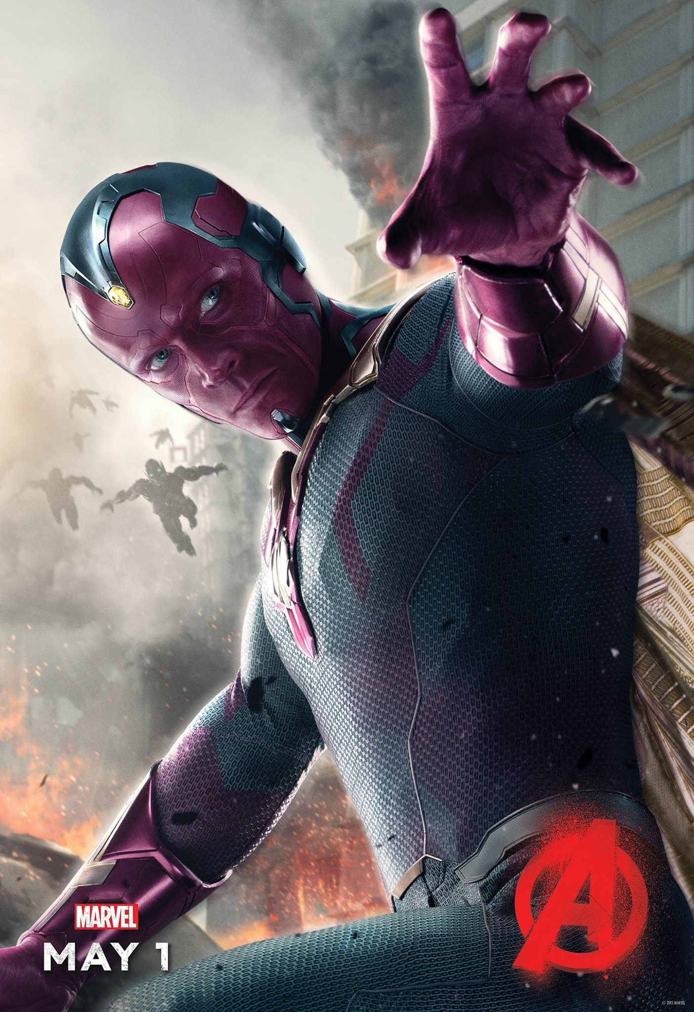 Comics on Film: Why We're Excited for Vision in 'Avengers: Age of Ultron'