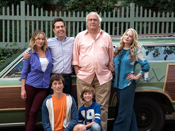 Youll Notice The Family Posing In Front Of A Station Wagon Which Happens To Look Exactly Like Old Queen Truckster From