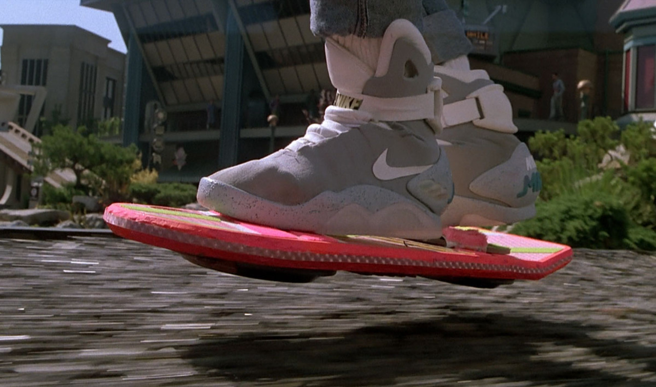 'Back to the Future Part II' in Real Life: A New Hoverboard World Record and Inside-Out Jeans...