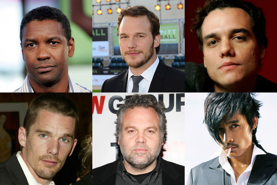 New Magnificent Seven cast