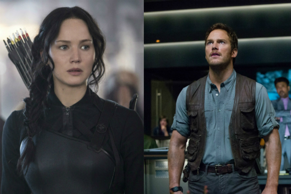 The Hunger Games: Mockingjay - Part 1 / Jurassic World