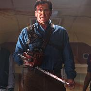 'Ash vs Evil Dead' Images Bring Back the Chainsaw, the Necronomicon, and Another Old Friend