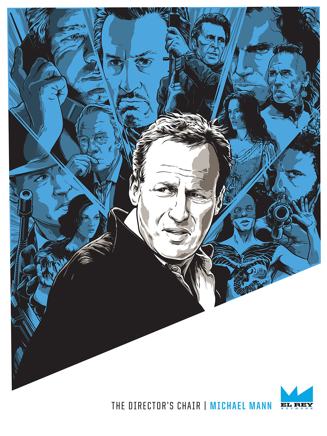 Michael Mann director's chair poster