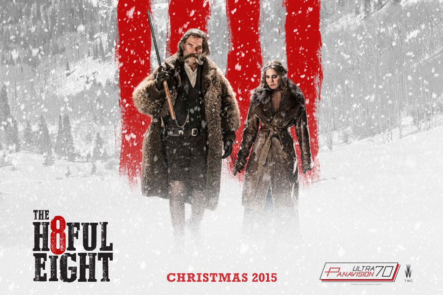 the hateful eight trailer quentin tarantino promises bullets and