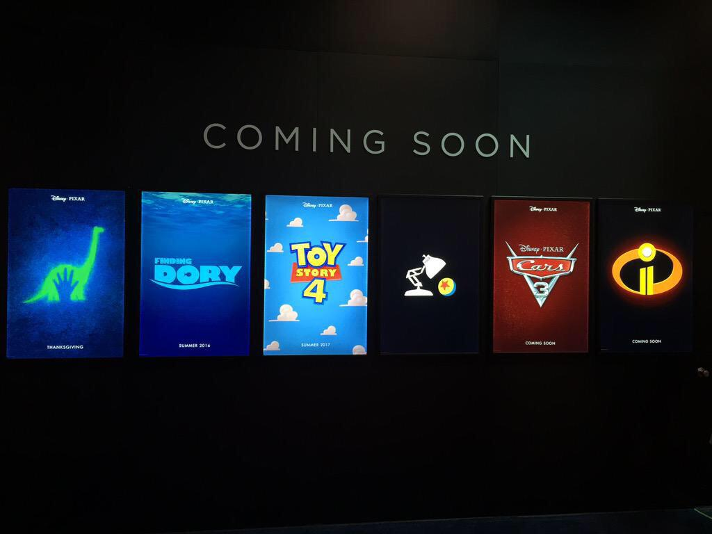 See The First Posters For Finding Dory The Incredibles 2
